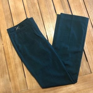 Emerald Green Stretch Flare NY&C Sz 2 Office Pants
